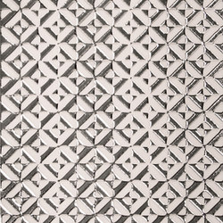 Dinamic white silver | Wall tiles | ALEA Experience