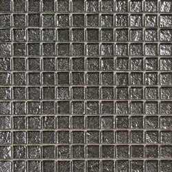 Glass silver net 25 | Glass tiles | ALEA Experience