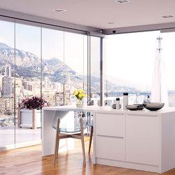 Balconglas Park Falce | Balcony glazing | Metalglas Bonomi