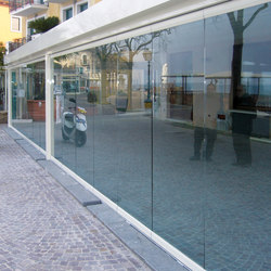 Balconglas Falce | Balcony glazing | Metalglas Bonomi