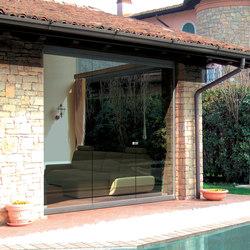 Balconglas Falce | Acristalamiento de balcones | Metalglas Bonomi
