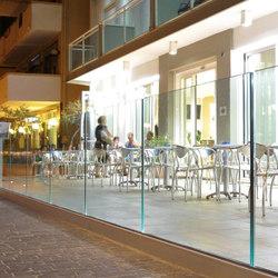 Maxima Prima B-4000 | Balustrades / Handrails | Metalglas Bonomi