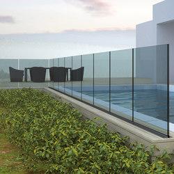 Maxima Deep B-4050 | Balcony glazing | Metalglas Bonomi