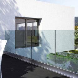 Maxima Angle B-4300 | Acristalamiento de balcones | Metalglas Bonomi