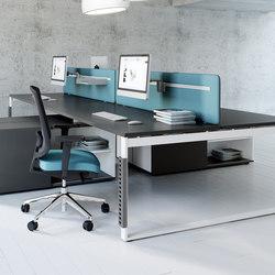 Ogi Q | Cloisons pour table | MDD