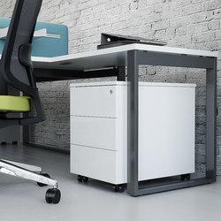 Ogi Q | Caissons mobiles pour bureaux | MDD