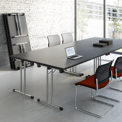 CONTRACT TABLES FOLDABLE High Quality Designer CONTRACT TABLES - Folding boardroom table