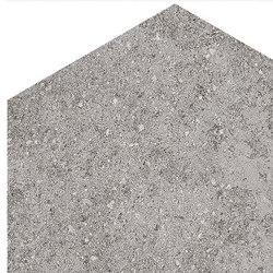 Aston | Hexagono Benson Gris | Ceramic tiles | VIVES Cerámica