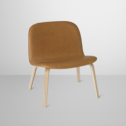 Visu Lounge | leather | Lounge chairs | Muuto