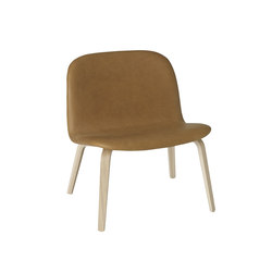 Visu Lounge | leather | Armchairs | Muuto