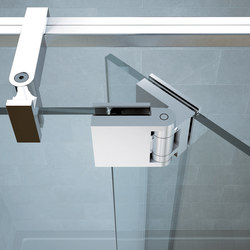 B-303 | Shower hinges | Metalglas Bonomi