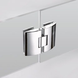 B-202 | Shower hinges | Metalglas Bonomi