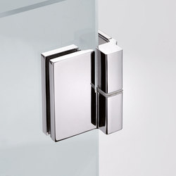 B-501 DX | Shower hinges | Metalglas Bonomi