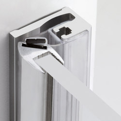 P-016 | Shower hinges | Metalglas Bonomi