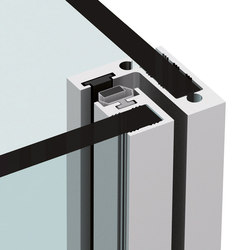 P-018-V | Shower hinges | Metalglas Bonomi