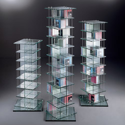 CD 392 + 504 + 616 | CD racks | Dreieck Design