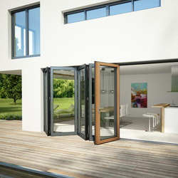 Bi-folding doors SL 97 | Window systems | Solarlux