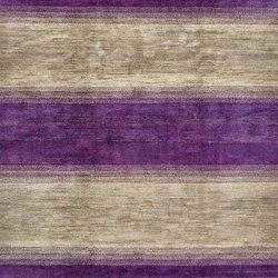 Gabbehs Geometric Stripes grey violet | Tappeti / Tappeti d'autore | Zollanvari