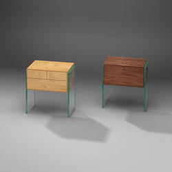 Flair 52 E + N | Night stands | Dreieck Design