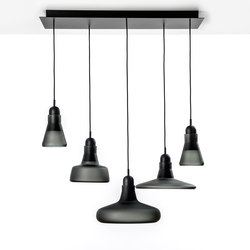 Shadows XL Set Rectangular Canopy Large PC1000 | Suspended lights | Brokis