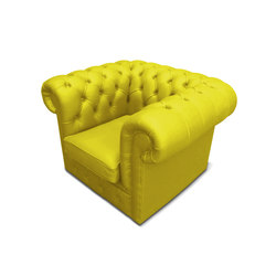 Plastic Fantastic club chair banana | Garden armchairs | JSPR