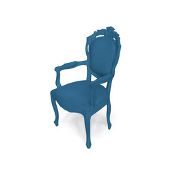 Plastic Fantastic dining chair armchair evening blue | Garden chairs | JSPR