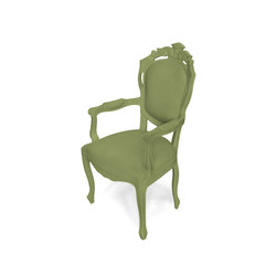 Plastic Fantastic dining chair armchair olive | Garden chairs | JSPR