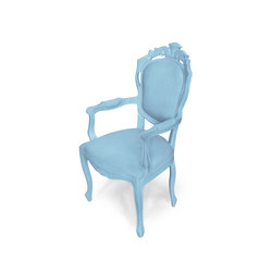 Plastic Fantastic dining chair armchair ice blue | Garden chairs | JSPR