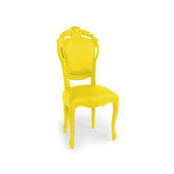 Plastic Fantastic dining chair banana | Garden chairs | JSPR