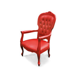 Plastic Fantastic voltaire I red | Armchairs | JSPR