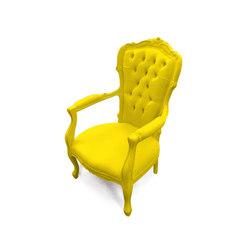 Plastic Fantastic voltaire II banana | Garden armchairs | JSPR