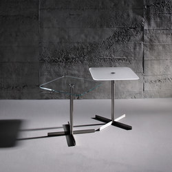 Lido 4550 OW k + LIDO 4655 OW s | Side tables | Dreieck Design