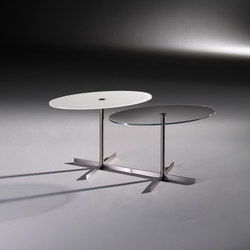 LIDO 7550 OW c + LIDO 7545 OW | Side tables | Dreieck Design