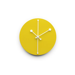 Dotty Clock ABI11 Y | Clocks | Alessi