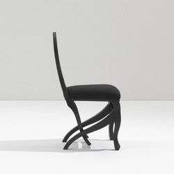 Click Clack chair charcoal | Chaises | Nigel Coates Studio