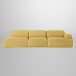 Connect Sofa | 3-seater open | Divani lounge | Muuto