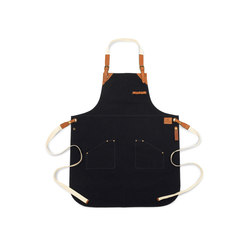 Grill Accessoires | BBQ Apron Canvas Navy Black | Accessories | Röshults