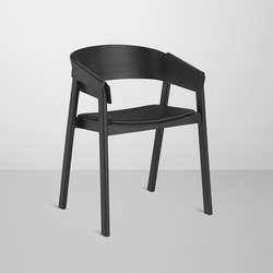 Cover Chair | leather | Visitors chairs / Side chairs | Muuto