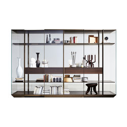 Kristal | Display cabinets | Molteni & C