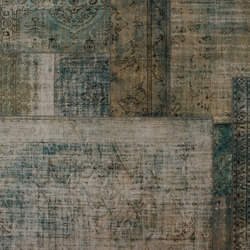 Patchwork Decolorized aqua | Tapis / Tapis design | GOLRAN 1898