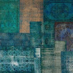 Patchwork Decolorized blue | Rugs / Designer rugs | GOLRAN 1898