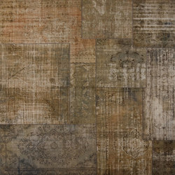 Patchwork Decolorized grey | Tapis / Tapis design | GOLRAN 1898
