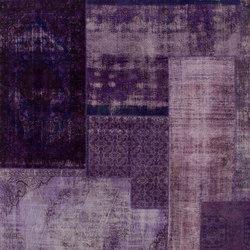 Patchwork Decolorized purple | Rugs / Designer rugs | GOLRAN 1898