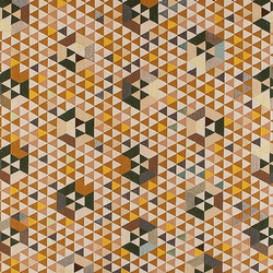 Triangles Trianglehex gold | Rugs / Designer rugs | GOLRAN 1898