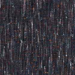 Tweed Couleurs - Navy Orange | Fabrics | Dominique Kieffer