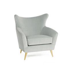Sophia | Armchair | Poltrone lounge | MUNNA