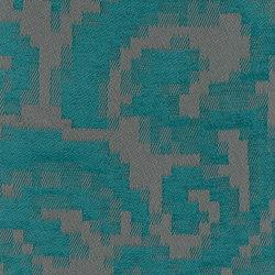 Pixelé - Acier Caraibi | Fabrics | Dominique Kieffer