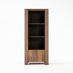 Organik DISPLAY RACK with DOOR & 3 COMPARTMENTS | Shelves | Karpenter