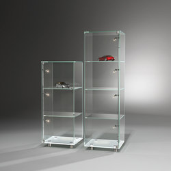 Solus II + III Optiwhite | Display cabinets | Dreieck Design