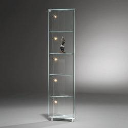 Solus IV Optiwhite Corner Cabinet | Vitrinas | Dreieck Design